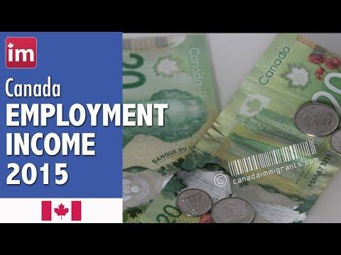 Income in Canada | Employment in Canada (2017 update)