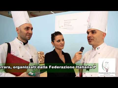 Campionati italiani cake design intervista a Marco & Davide Red carpet F.I.P. 2014