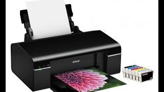 Обзор принтера Epson Stylus Photo P50