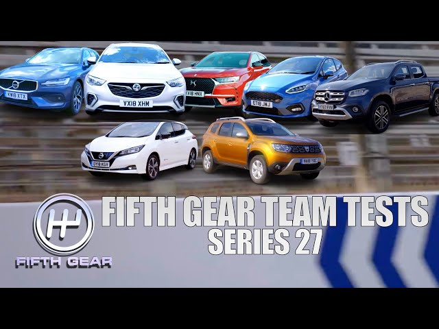 ALL Fifth Gear Team Tests - Series 27 | Fifth Gear