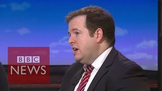 Labour MP Stephen Doughty  resigns live on TV - BBC News