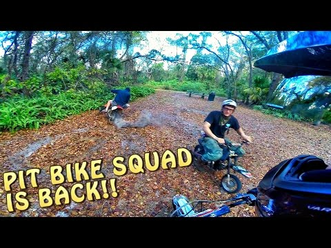 Pit Bike Adventures | HOMIES ARE BACK!!