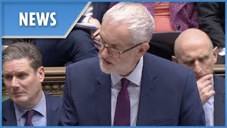 Corbyn responds to May's cancellation of Commons Brexit vote