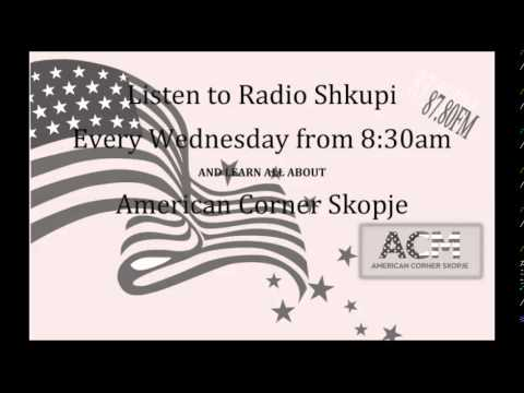American Corner Skopje @ Radio Shkupi - 2nd Radio Program
