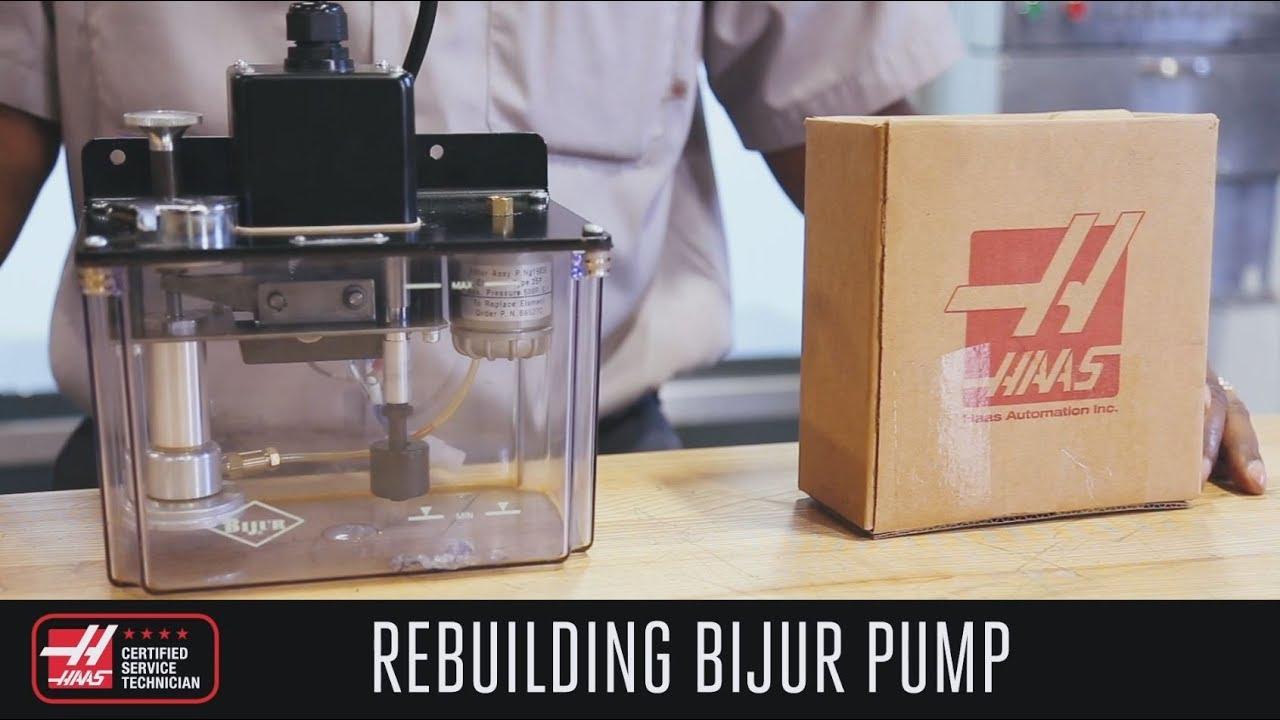 Rebuild Your Bijur Oil Pump