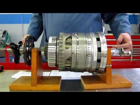 Chrysler NAG1 5-Speed Transmission Power Flow - YouTube