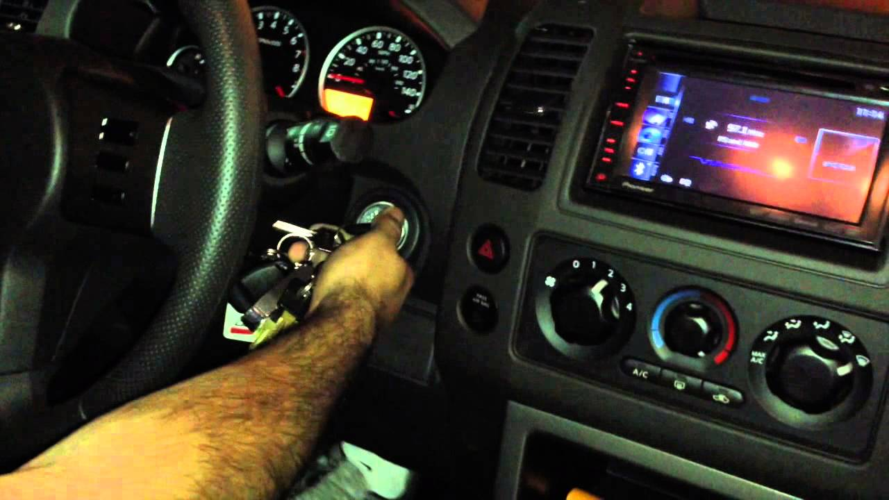 Nissan Pathfinder Installed A Navigation Radio With A