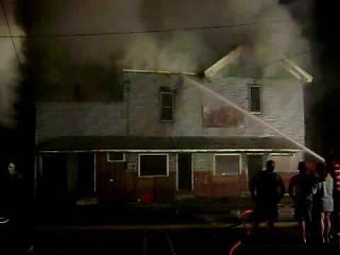 Irvona,Pa 3rd alarm working fire 3