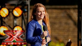 Charli Beard's big moment has arrived   Boot Camp   The X Factor UK 2015