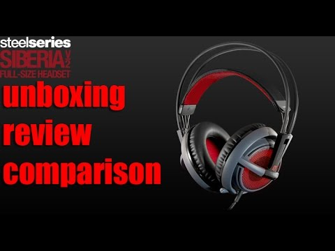 Steelseries Siberia V2 Dota 2 Special Edition Unboxing Review Comparison By Justincase Youtube