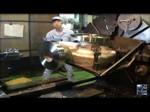 Visit inside a private mechanical workshop in Japan - Technology solutions 2017
