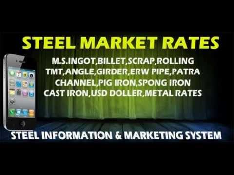 Indian scrap prices, steel price index, price of iron ore, cast iron scrap price, iron and steel