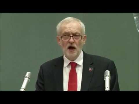 Jeremy Corbyn speech at the United Nations' Geneva headquarters