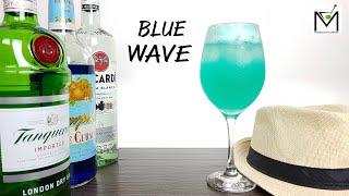 COMO FAZER O DRINK BLUE WAVE