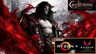 Castlevania: Lords of Shadow 2 (Ryzen 5 2400G + Radeon RX Vega 11) PC Benchmark 1080p HD