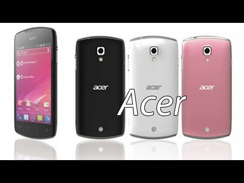 Acer Liquid Glow Android 4.0 ICS Smartphone Official Picture & Specs! New MWC 2012 Mid-Range Phone
