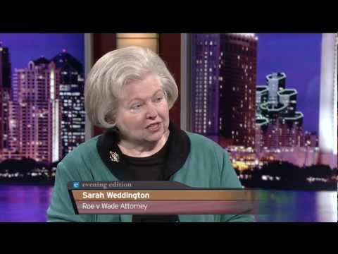 Sarah Weddington, Roe v Wade