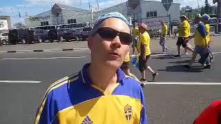 Болельщик из Южной Кореи и фанат из Швеции делятся впечатлениями о Чемпионате мира | Страна.ua