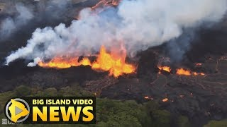 Hawaii Volcano Eruption Update - Monday Morning (May 21, 2018)