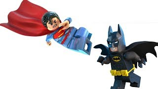От каких ЦВЕТОВ у ДЖОКЕРА КРУЖИТСЯ ГОЛОВА? Супермен против Бэтмена. Лего Мультик - Анимация 2017