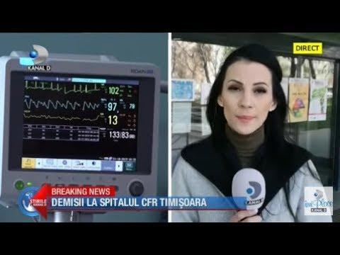 Stirile Kanal D (31.03.2020) - DEMISII LA SPITALUL CFR TIMISOARA | Ce Motive Au Invocat Medicii?