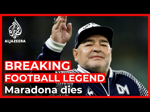 Breaking: Football legend Maradona has died