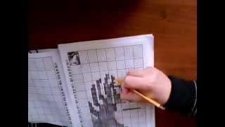Японский кроссворд №34 лошадка)