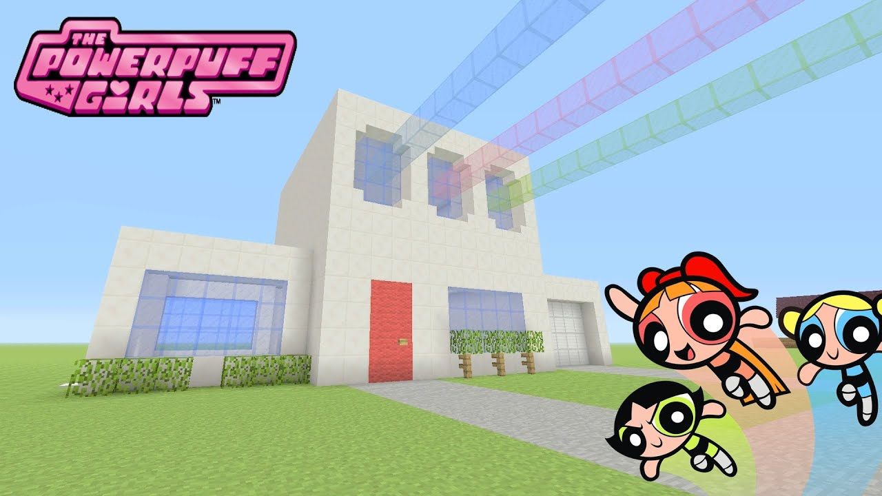 Teenage Room Ideas For Small Rooms Minecraft Tutorial How To Make Quot The Powerpuff Girls