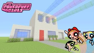 "Minecraft Tutorial: How To Make ""The Powerpuff Girls"" House!! ""The Powerpuff Girls"" (Survival House)"