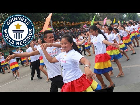 Largest samba dance – Guinness World Records