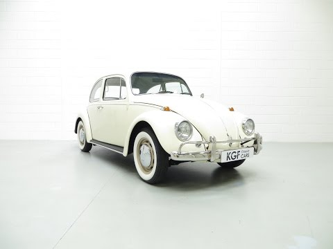 A Pristine 1966 Volkswagen Beetle 1500 De Luxe with a Comprehensive History File - SOLD!