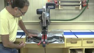 Miter Saw Workstation   Building The Top