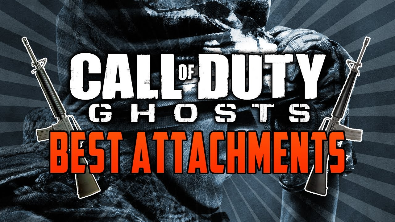 Call Of Duty Ghosts: BEST Weapon Attachments Guide (COD