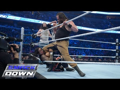 The Usos vs. Braun Strowman & Luke Harper of The Wyatt Family: SmackDown, December 31, 2015