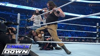 The Usos vs. Braun Strowman & Luke Harper of The Wyatt Family: SmackDown, December 31, 2015