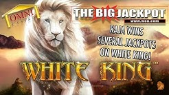 👑 Several Jackpots Won on White King at The Omni Casino 🦁