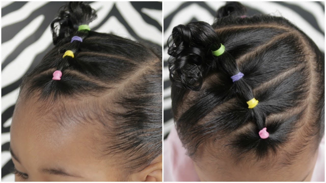 Easy 5 Minute Toddler Hairstyle Youtube