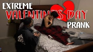 EXTREME VALENTINES DAY PRANK!! [WE BROKE UP FOR GOOD]