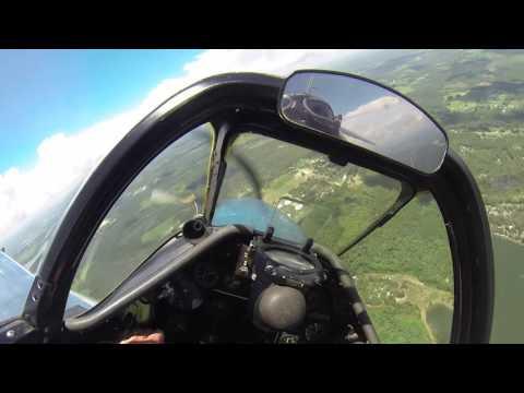 North American P-51D Mustang - Part 3 - Flight w/Cockpit Audio - Kermie Cam