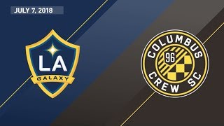 HIGHLIGHTS: LA Galaxy vs. Columbus Crew SC | July 7, 2018