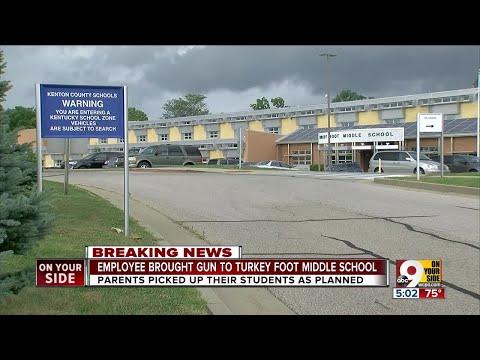 Employee brought gun to Turkey Foot Middle School