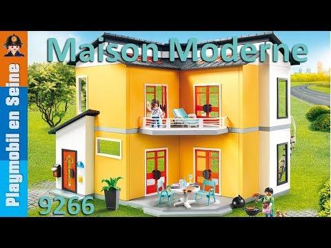 Playmobil - Maison d\'habitation Moderne - 9266