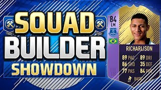 THE FIRST FIFA 19 PLAYER OF THE MONTH!!! INFORM RICHARLISON SQUAD BUILDER SHOWDOWN!!!