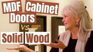 MDF cabinet doors vs solid wood: Which is the best one for your home