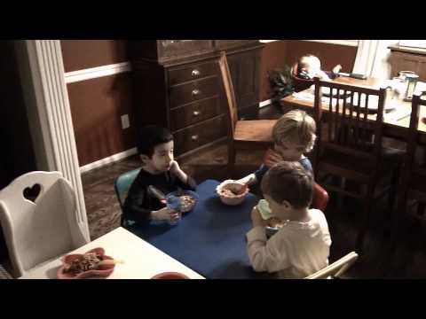 The 3 Boys of the 3 Buddies Break Bread Together