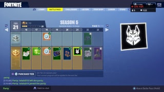 FORTNITE LIVE STREAM GIFT'S IT'S COMEING OUT......