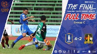 Thailand Youth League Highlight : บีจี ปทุม ยูไนเต็ด 4-2 หาดใหญ่ ซิตี้