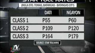 Star Tollway hikes rates by 10%