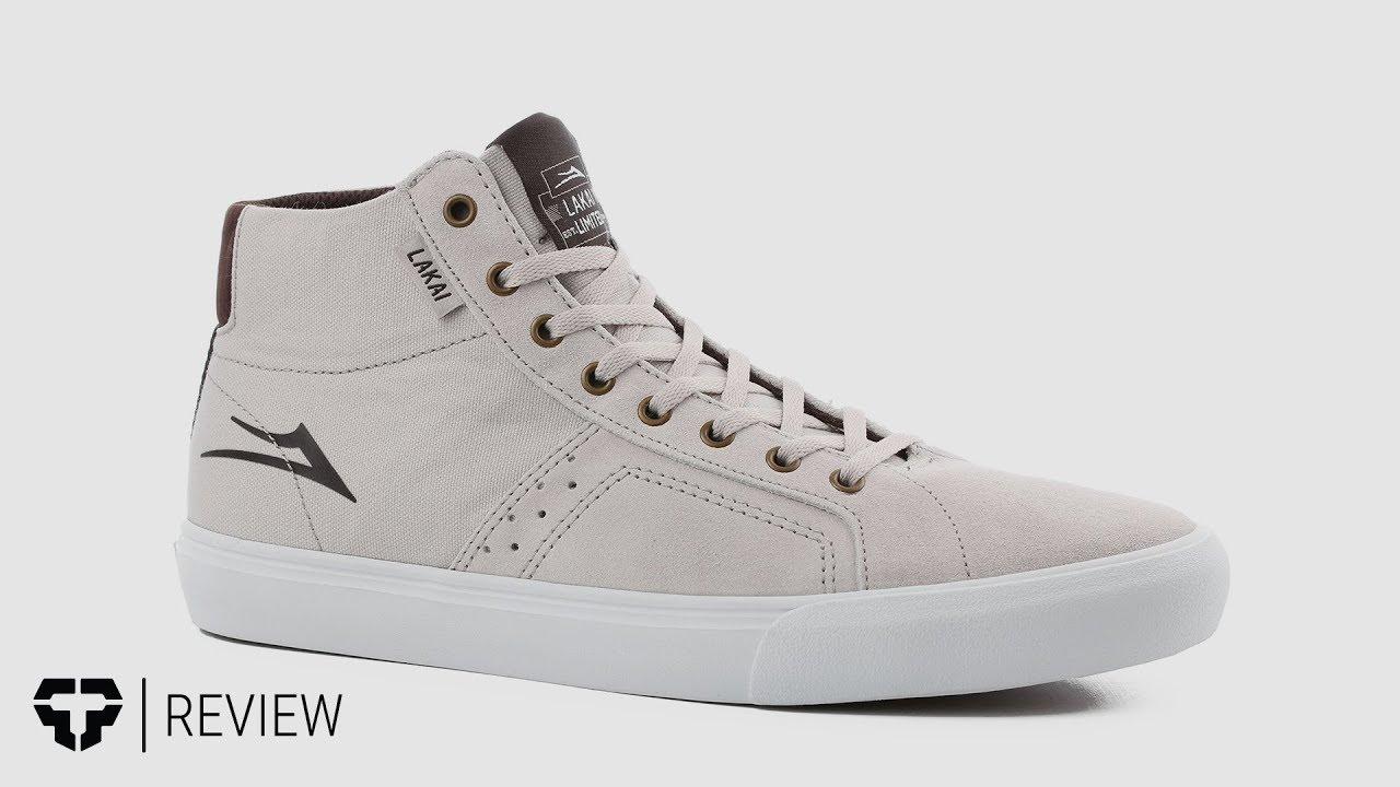 2c38ca70d0f330 Lakai Flaco Hi Skate Shoes Review - Tactics.com - YouTube