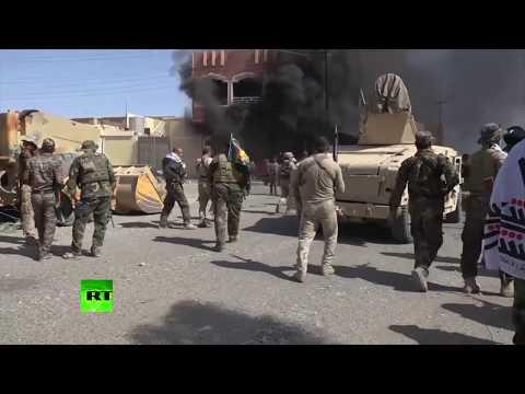 RAW: Iraqi forces gaining control of Tal Afar
